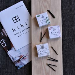 Hibi Japanese fragrances / Tuoksu-tulitikut