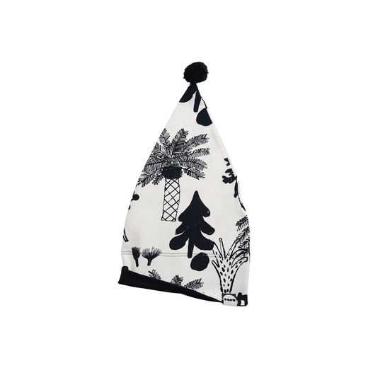 Papu - TRIANGLE BEANIE - Hidden Forest / White Sand