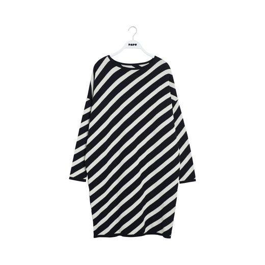 Papu KNIT STRIPE Dress - naisten neulemekko