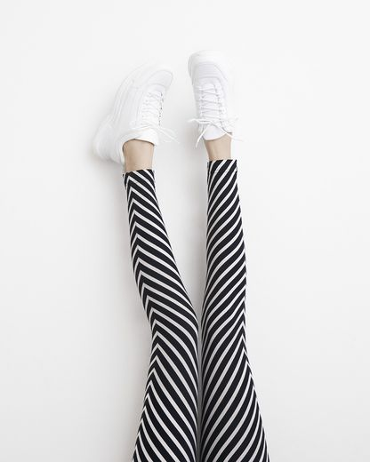 PAPU STRIPE leggings, women