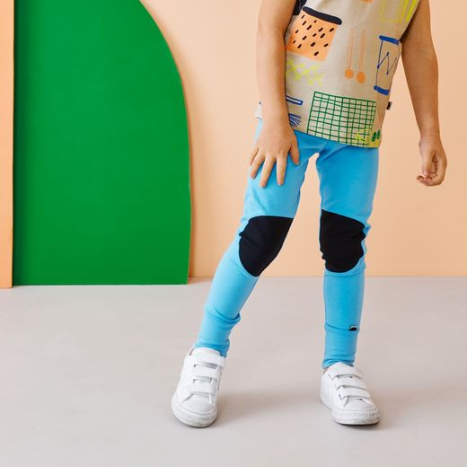 Papu PATCH LEGGINGS kids, lasten leggingsit